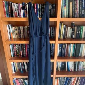 Navy Lulu brand maxi dress